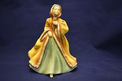 "Royal Doulton fine china figurine ""Rachel"" HN2919 in gold and green"