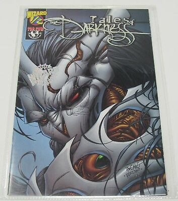 TALES OF THE DARKNESS #1/2 Top Cow Comic Wizard Foil Variant COA 1998 Witchblade