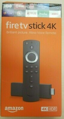 Amazon Fire TV Stick 4K with Alexa Voice Remote - NEW!