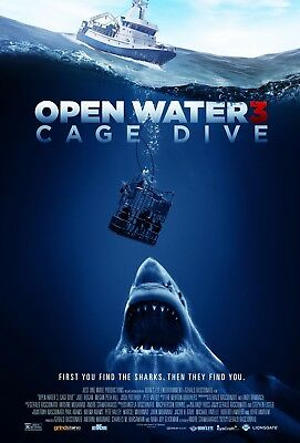 Open Water 3 - A4 Glossy Poster - Film Movie Free Shipping #1084