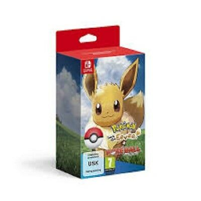 Pokemon Let´s Go Evoli + Pokeball plusNEUOVP Switch