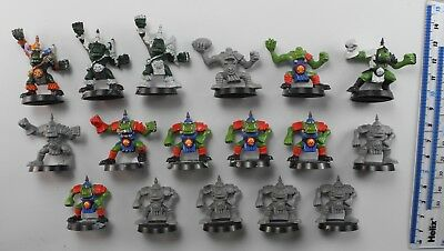 17 BLOOD BOWL ORC PLAYERS Plastic Bloodbowl Orcs Team 1990s 59