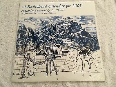 Radiohead Official 2005 Calendar New And Sealed
