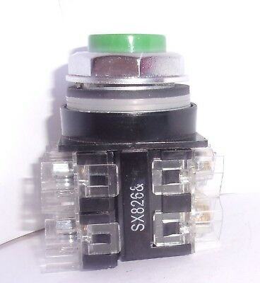 GE GENERAL Electric Cr104 Extended Head Green Push on Cr104 P on