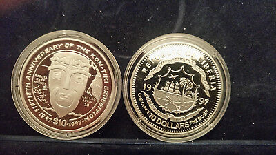 Liberia.  Nice silver proof coin see picture