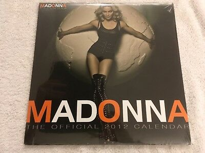 Madonna Official 2012 Calendar New And Sealed