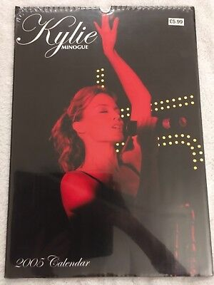 Kylie Minogue 2005 Calendar New And Sealed