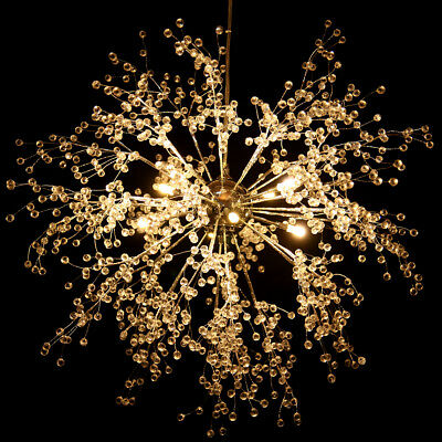 Modern Dandelion LED Chandelier Fireworks Pendant Lamp Ceiling Lighting Light G4