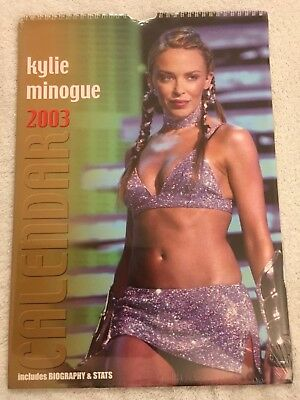 Kylie Minogue 2003 Calendar New And Sealed