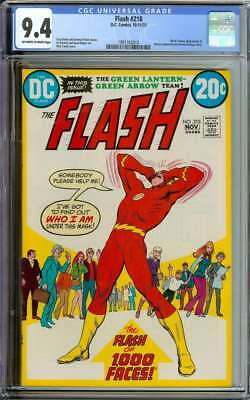 Flash #218 Cgc 9.4 Ow/wh Pages