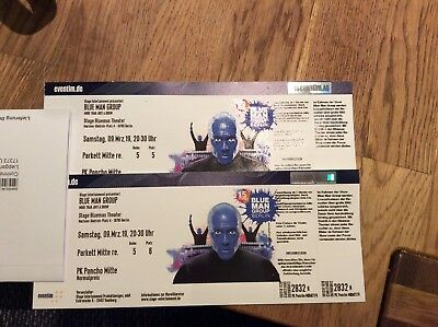 Blue Man Group 2 Tickets Berlin 09.03.19