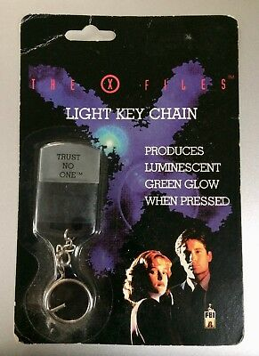 "X Files Light Keychain ""trust No One"" Moc"