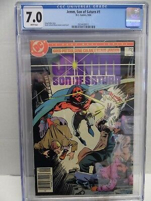 JEMM, SON OF SATURN #1 1984 CGC 7.0 with FREE SHIPPING!