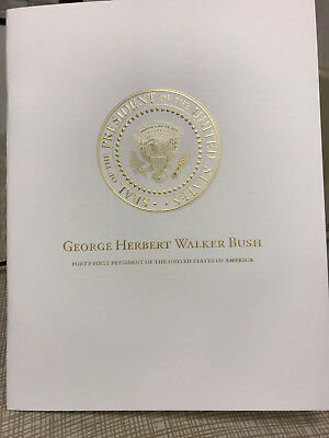 President George H.W. Bush National Cathedral Funeral Program