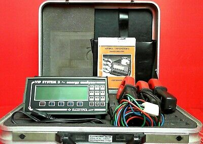 Electronrol Energy VIP System 3 Energy Analyzer With Clamps