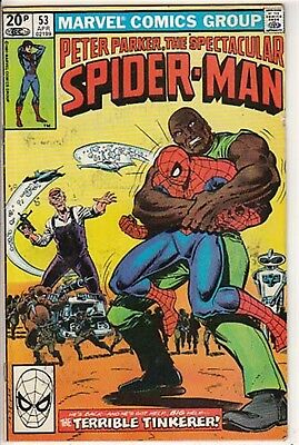Spiderman Spectacular # 53  Peter Parker  Fn-/ Fn 1981  American  Marvell  16