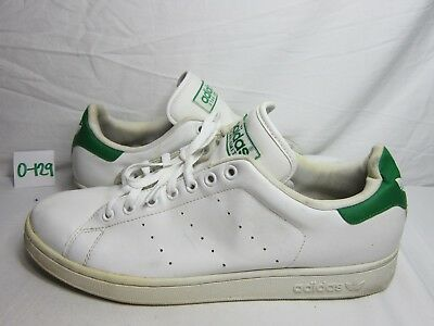 the best attitude fc7f3 f03d9 Men s Adidas Stan Smith Original White Green Athletic Shoes Size 13