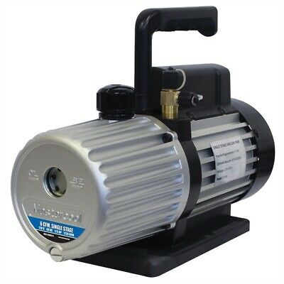 Mastercool 6 CFM Single Stage Vacuum Pump 110-120 Volts MSC90066-B