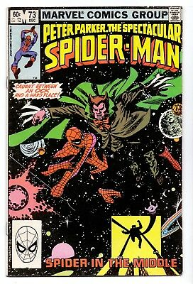 Spiderman Spectacular # 73  Peter Parker  Vf-/ Fn+ 1983  American  Marvell  16