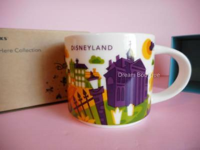 Disney Resort Starbucks New Orleans You are Here Haunted Mansion Mug NWT