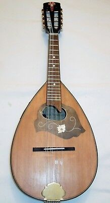 Beautiful, restored Vintage Electro Acoustic Mandolin in good playing order VGC