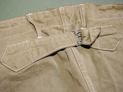 US Army PUNITIVE EXPEDITION WW1 M-1908 BUCKLEBACK PEA GREEN SUMMER BREECHES Vtg