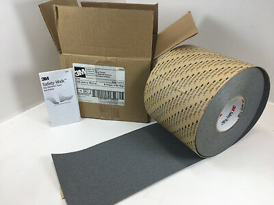 3M SAFETY WALK 370 - GRAY anti-slip tape 6 inch wide x 60 ft long - 1 ROLL