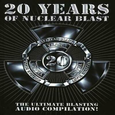 Various Artists : 20 Years of Nuclear Blast CD Box Set 4 discs (2007)