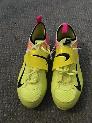 new styles 91a3f 8f37d Nike Zoom PV II Yellow And Pink Pole Vault (No Spikes Included)