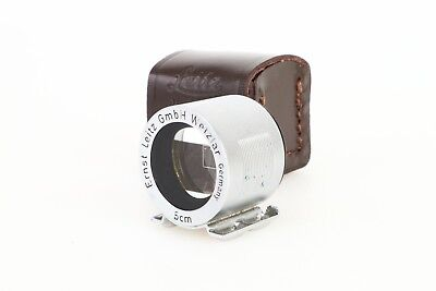 ~Leitz Leica SBOOI 5cm 50mm Bright Line External Viewfinder Ribbed 4th Version