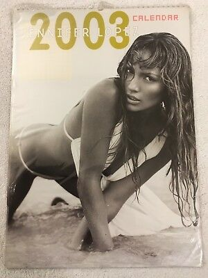 Jennifer Lopez  Official 2003 Calendar New And Sealed