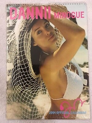 Dannii Minogue Rare Official 2004 Calendar New And Sealed