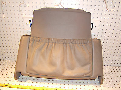 Mercedes Early C140 CL Coupe REAR of front L or R seat GRAY OEM 1 Cover,Type #1