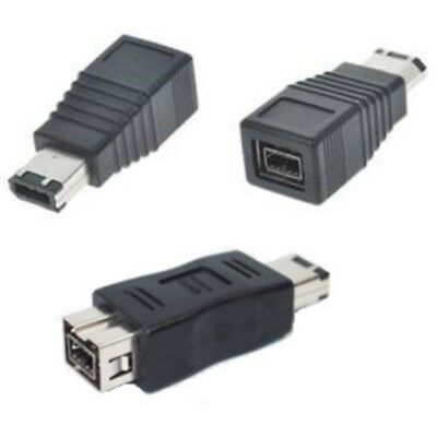 6pin Male~9pin Female IEEE1394b Firewire/iLink/DV 800mbs Cable/Cord Adapter$SHdi