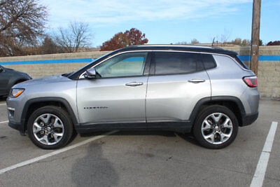 2018 Jeep Compass Limited 4x4 Limited 4x4 4 dr SUV Automatic Gasoline 2.4L 4 Cyl Billet Silver Metallic Clearc