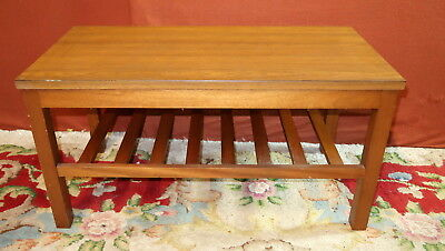 Vintage Gibbs Wooden Coffee Table With Formica Top