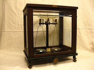 Bybryt Antique/Vintage Analytical Balance from W.A. Webb London