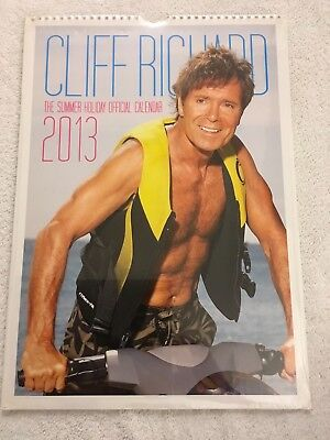 Cliff Richard Official Summer Holiday 2013 Calendar New And Sealed