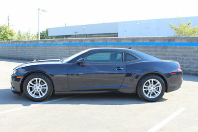 2014 Chevrolet Camaro 2dr Coupe LS w/1LS 2dr Coupe LS w/1LS Low Miles Manual Gasoline 3.6L V6 Cyl BLUE RAY METALLIC