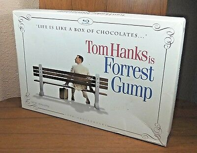 Forrest Gump (Blu Ray, 2-Disc, 2009) 15th Anniversary Chocolate Box Gift Set