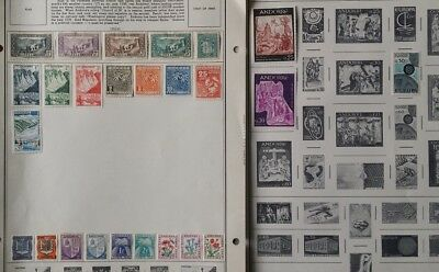 Lot of Andorra Old Stamps MH