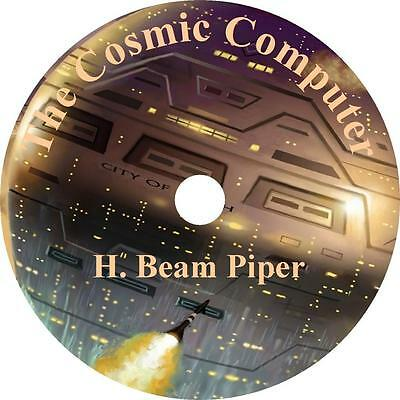 The Cosmic Computer, H. Beam Piper Sci-Fi War Adventure Audiobook on 1 MP3 CD