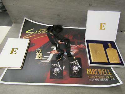 Elton John Farewell Yellow Brick Road Final Tour Limited Edition VIP Gear