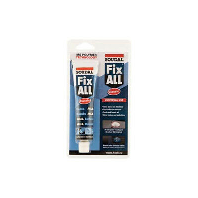 Soudal Dichtstoff Fix ALL® Crystal kristallklar 80 g/80 ml