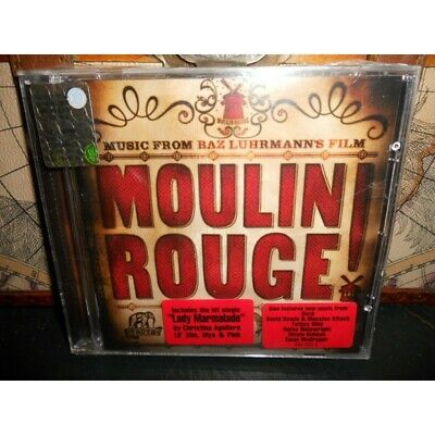 MOULIN ROUGE MUSIC FROM FILM SOUNDTRACK New Original New CD Audio