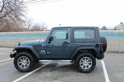 2008 Jeep Wrangler 4WD 2dr X 4WD 2dr X Low Miles SUV Manual Gasoline V6 Cyl GRAY