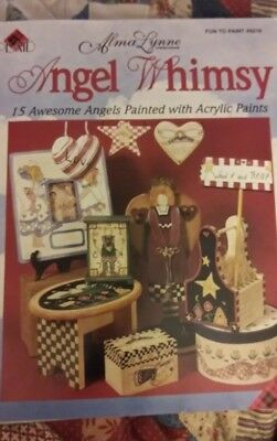 Angel Whimsy Book by Alma Lynne Decorative Painting Folk Art Tole Pattern