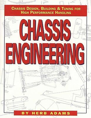 Chassis Engineering - Design Building Tuning Racing Race Car Book Manual NEW /