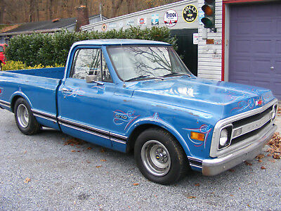 1970 Chevrolet C-10  1970 chevy short bed pickup truck Patina/clearcoat