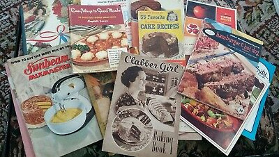100Vintage booklets pamphlets cookbooks user guides for small kitchen appliances